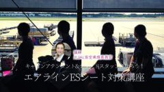 エアラインエントリーシート対策講座~Ca&gsになろう!~